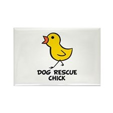 Chick Rectangle Magnet