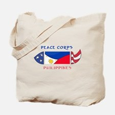 Funny Peace corps Tote Bag
