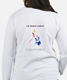 2-PHILIPPINES POCKET LOGO WHITE STROKE Long Sleeve