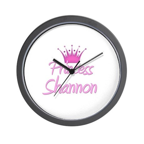 Princess Shannon Wall Clock