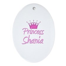 Princess Shania Oval Ornament