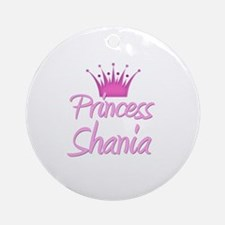 Princess Shania Ornament (Round)