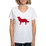 Stabyhoun Women's V-Neck T-Shirt