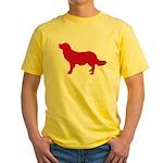 Stabyhoun Yellow T-Shirt