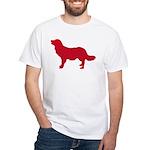 Stabyhoun White T-Shirt