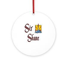Sir Shane Ornament (Round)