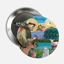 """St Francis/Am Eskimo #3 2.25"""" Button"""