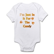 I'm just in it for the candy Infant Bodysuit