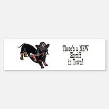 Helaine's Sheriff Ollie Bumper Bumper Bumper Sticker