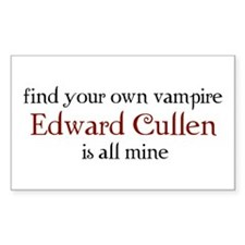 Find your own vampire Rectangle Decal
