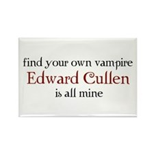 Find your own vampire Rectangle Magnet