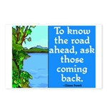 THE ROAD AHEAD Postcards (Package of 8)