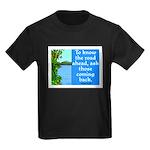 THE ROAD AHEAD Kids Dark T-Shirt