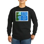 THE ROAD AHEAD Long Sleeve Dark T-Shirt