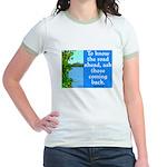 THE ROAD AHEAD Jr. Ringer T-Shirt