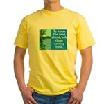 THE ROAD AHEAD Yellow T-Shirt