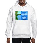 THE ROAD AHEAD Hooded Sweatshirt