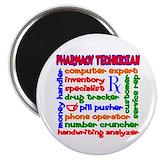Pharmacy technician Magnets