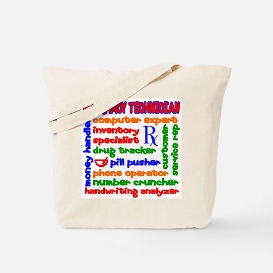 Pharmacy Technician Tote Bag