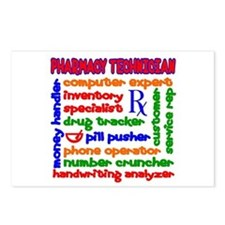 Pharmacy Technician Postcards (Package of 8)