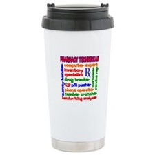 Pharmacy Technician Travel Coffee Mug