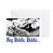 HEY DIDDLE, DIDDLE Greeting Card