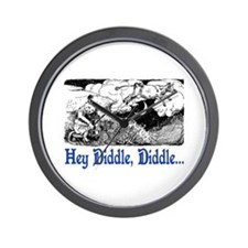 HEY DIDDLE, DIDDLE Wall Clock