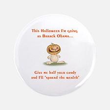 "Halloween Obama 3.5"" Button"