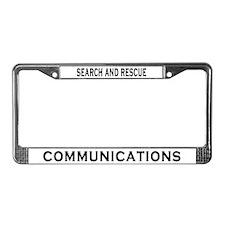 SAR Comm License Plate Frame