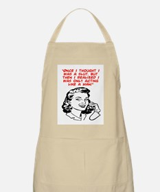 ACTING LIKE A MAN BBQ Apron