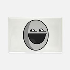 Happy Face Rectangle Magnet