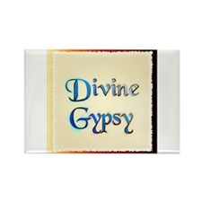 Divine Gypsy Rectangle Magnet