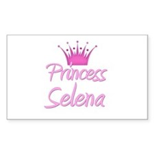Princess Selena Rectangle Decal