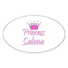 Princess Selena Oval Decal