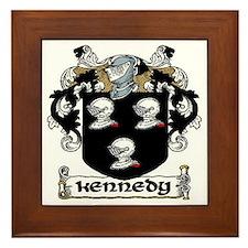 Kennedy Coat of Arms Framed Tile