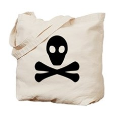 Poison Skull (black) Tote Bag