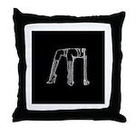 Mistress Magick Logo Throw Pillow