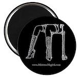 "Mistress Magick Logo 2.25"" Magnet (100 pack)"