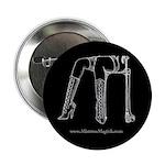 """Mistress Magick Logo 2.25"""" Button (10 pack)"""