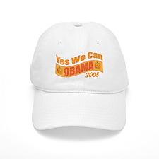 Halloween Obama Yes We Can Banner 2008 Baseball Cap