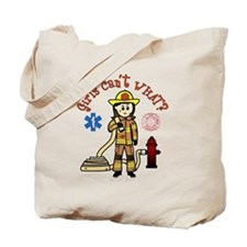 Custom Firefighter Tote Bag