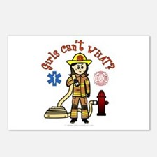 Custom Firefighter Postcards (Package of 8)