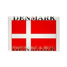 Denmark Danish Flag Rectangle Magnet