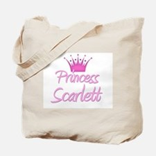 Princess Scarlett Tote Bag