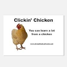 Unique Hen Postcards (Package of 8)