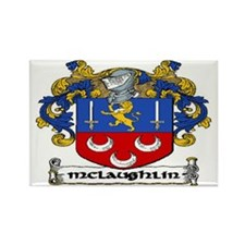 McLaughlin Coat of Arms Magnets (10 pack)