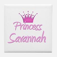 Princess Savannah Tile Coaster