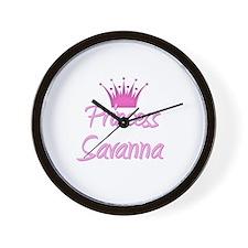 Princess Savanna Wall Clock
