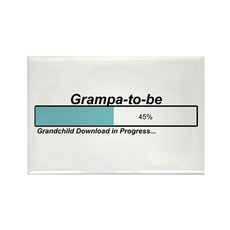 Download Grampa to Be Rectangle Magnet