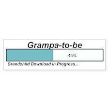 Download Grampa to Be Bumper Bumper Sticker